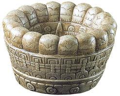 Aztec sacrificial bowl