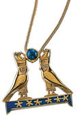 Horusfalken-Halskette