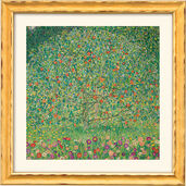 "Painting ""Apple Tree I"" (1912) with frame"