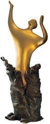 """Skulptur """"Die Wandlung"""", Version in Kunstbronze"""
