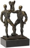 """Skulptur """"Give me five"""""""