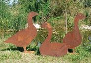 "Garden Plugs ""Geese"""