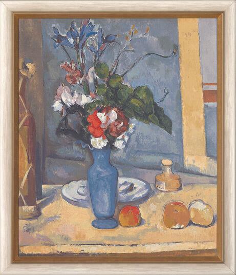 """Paul Cézanne: Bild """"Die blaue Vase"""", gerahmt"""