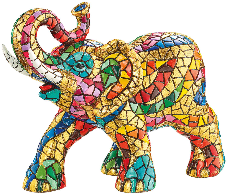 mosaikfigur elefant ars mundi. Black Bedroom Furniture Sets. Home Design Ideas