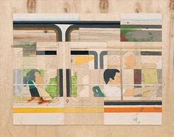 """Bild """"In the Bus, Beijing"""" (2012) (Unikat)"""