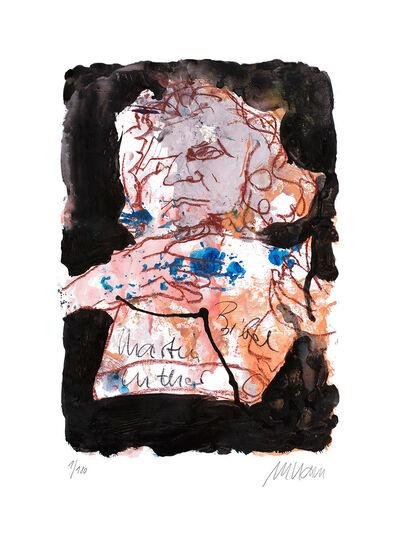 """Armin Mueller-Stahl: Bild """"Martin Luther"""" (2014), ungerahmt"""