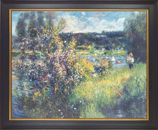 """Auguste Renoir: Painting """"The River Seine at Chatou"""""""