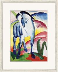 "Bild ""Blaues Pferd I"" (1911), gerahmt"