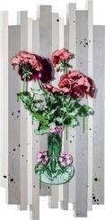 "Wandobjekt ""Fleurs de mes parents A1"" (2017) (Unikat)"