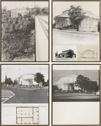 "Christo: Bildmappe ""Kunsthalle Bern"" (1972)"