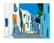 """Picture  """"Ombre et lumière à Sidi bou Said"""" (2001)"""