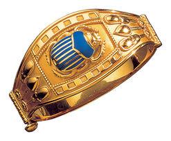 Scarab – the Tutankhamun's bracelet