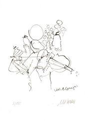 """Bild """"Violinkonzert"""" (2015) - inkl. Buch, ungerahmt"""