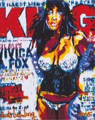 """Bild """"King Magazine"""", ungerahmt"""