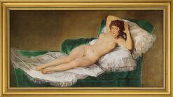 """Bild """"Die nackte Maja"""" (1797-1800), gerahmt"""