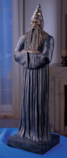 "RobiN: Sculpture ""Merlin"", Artificial Bronze Version"