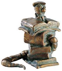 "Sculpture ""The Bookworm"""