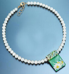 Necklace 'Water Lilies'