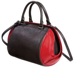 "Hand Bag ""Black & Red"""