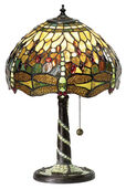 Table lamp 'Green Dragonfly'