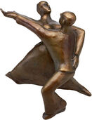 "Sculpture ""Rock 'n' Roll"" (2002), bronze"