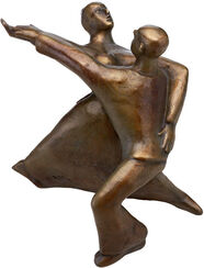 "Skulptur ""Rock 'n' Roll"" (2002), Bronze"