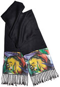 "Pashmina ""Tiger"" - by Franz Marc"