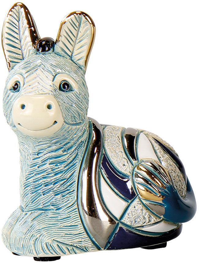 Crib Sculpture Quot Donkey Quot Porcelain Ars Mundi English Version