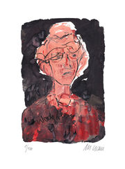"Painting ""Woody Allen"" (2014), Unframed"