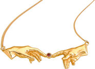 Necklace 'Creation of Adam'