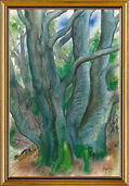 """Picture """"Tree I. Forest Landscape 2000"""""""