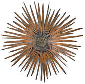 "Wall sculpture ""Sunburst"""