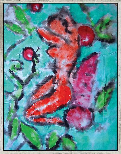 """Stefan Szczesny: Bild """"Rêves de cercises"""" (2004) (Original / Unikat), gerahmt"""