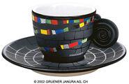 "Espresso Cup ""Hundertwasser House"""