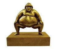 """Skulptur """"Sumo"""", Bronze"""