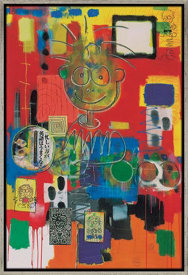 """Painting """"MENSCHchEN"""" (2005)"""