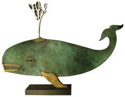 "Sculpture ""Whale"", Bronze"