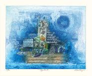 """Bild """"Papillon II"""" (2001), ungerahmt"""