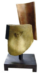 "Skulptur ""Carmen Amaya"", Bronze"