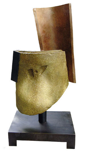 "Eduardo Arroyo: Skulptur ""Carmen Amaya"", Bronze"
