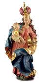 """Skulptur """"Barock-Madonna"""", Kunstguss handbemalt"""