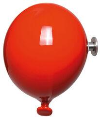 """Kleiderhaken / Wandobjekt """"Mini Balloon rot"""", Keramik"""