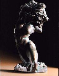 """Skulptur """"Nudo"""", Bronze"""