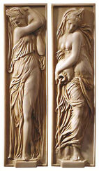 "Reliefs ""Nymphs"""