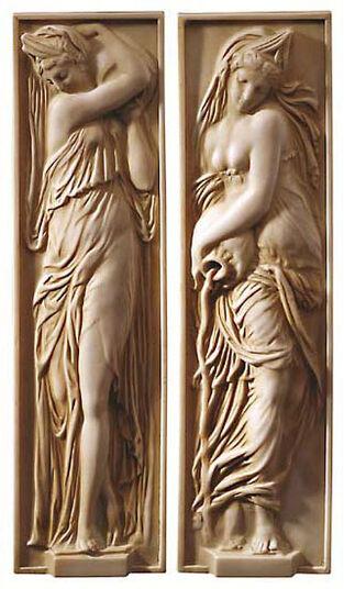"""Jean Goujon: Reliefs """"Nymphs"""""""