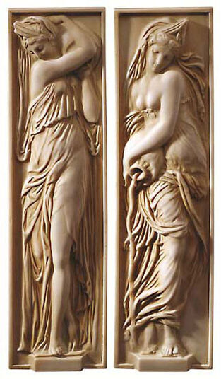"Jean Goujon: Reliefs ""Wasserträgerinnen"""