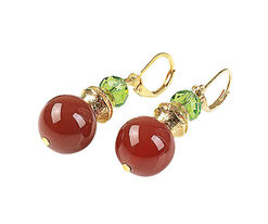 "Earrings ""Wild Cherry"""