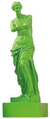"Skulptur ""Venus von Milo - Grün"" (Reduktion, Höhe 32 cm), Kunstmarmor"