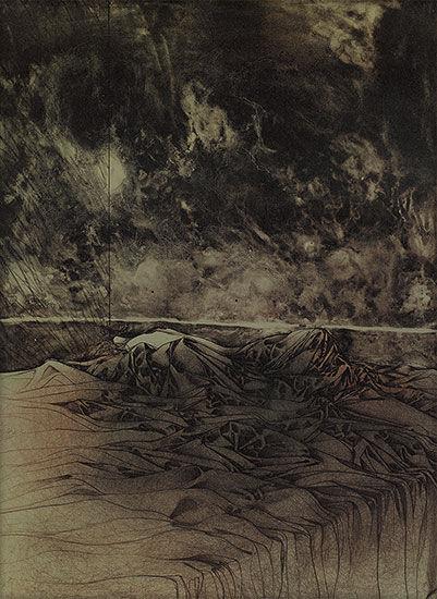 """Picture """"A letto"""", 1974"""