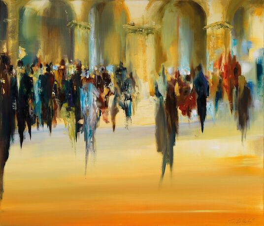 "Robert Hettich: Bild ""Liturgie"" (2008)"
